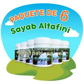 Paquete de 6 Sayab