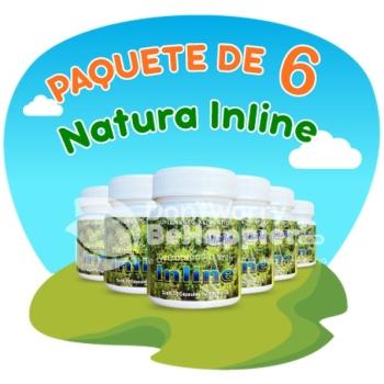 Paquete de 6 Natura Inline