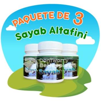Paquete de 3 Sayab