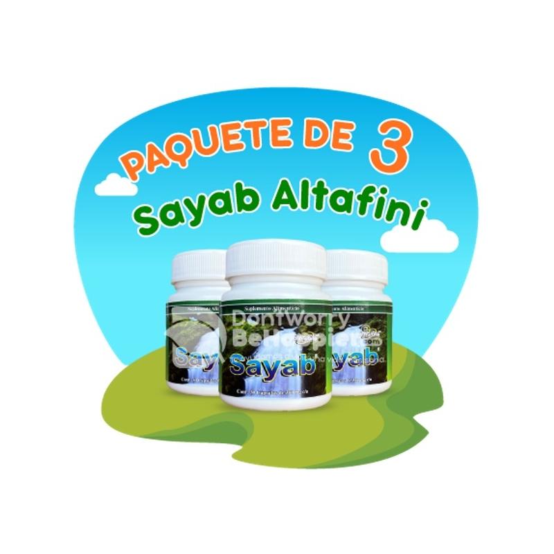 Paquete de 3 frascos de Sayab