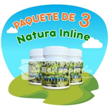Paquete de 3 frascos de Natura Inline