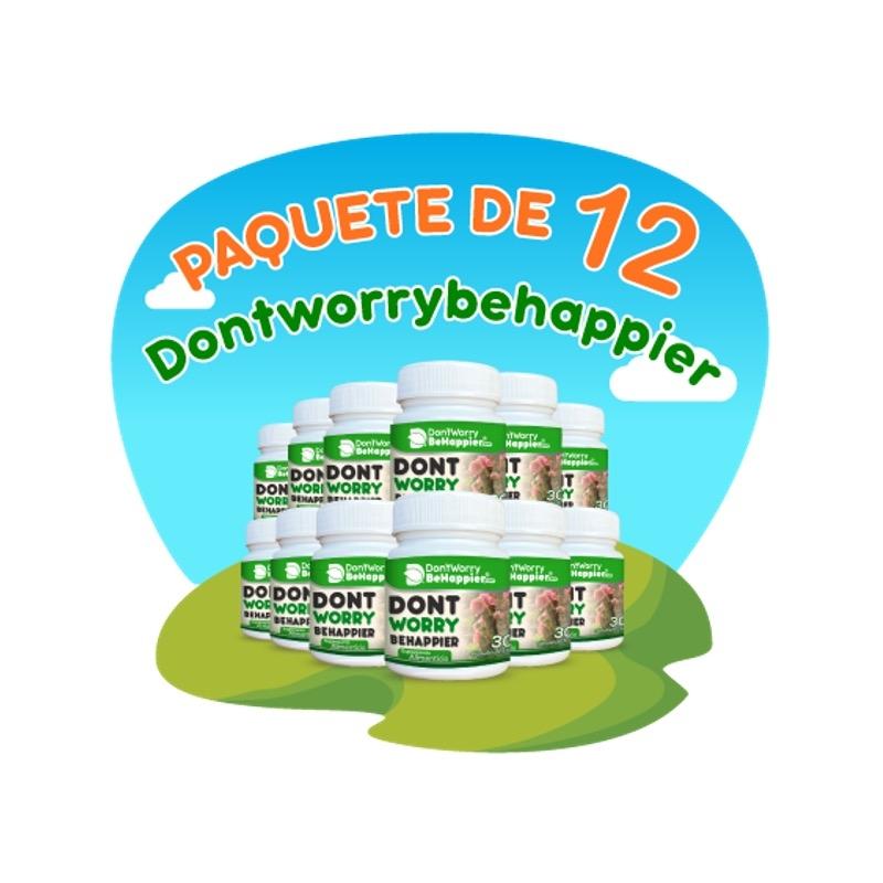 Paquete de 12 Dontworrybehappier (Fórmula Sayab)